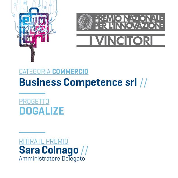 """Il social network per gli amanti dei cani """"Dogalize"""" vince il Premio Innovazione Italia 2015 di ConfCommercio"""