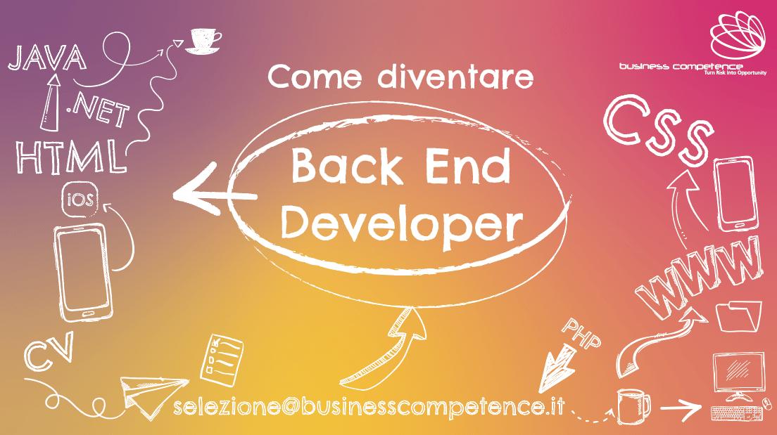 Come diventare backend developer